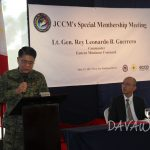 【News】ミンダナオ日本人商工会議所、フィリピン国軍司令官を招いて治安セミナー