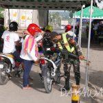 【News】ダバオ市陸運局、オートバイ運転手の反射ベスト着用義務付けに意欲的