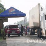【News】ダバオ地方の州境検問強化、市内で導入開始、初日は35台の車両が入境できず