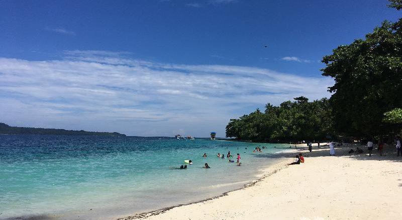 サマル島ビーチ