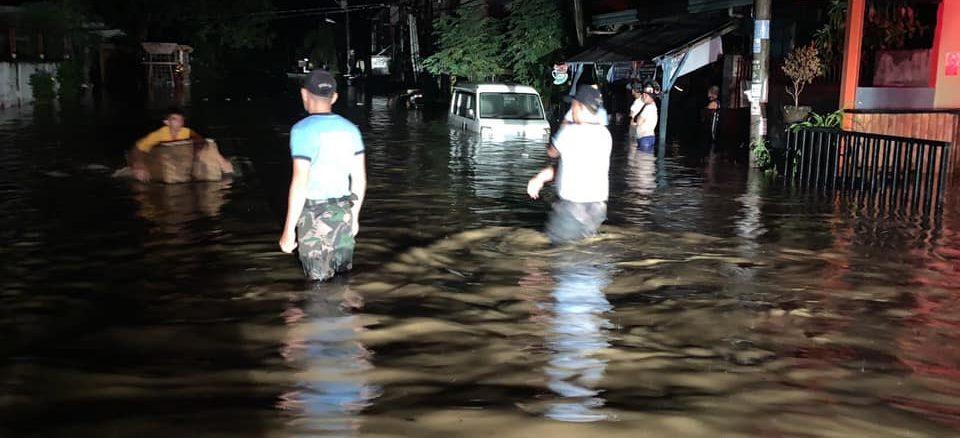 ダバオ市洪水